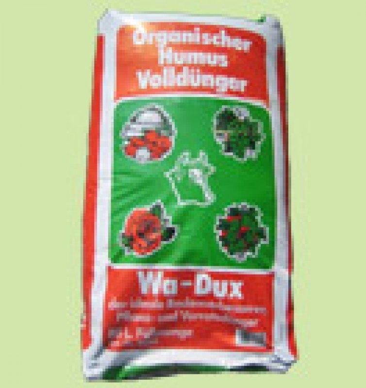Wa-dux Humusdünger 70l € 18.-   1l € 0,26