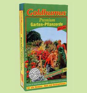 Garten-Pflanzerde mit Lava 70l € 14,- | 1l € 0,20